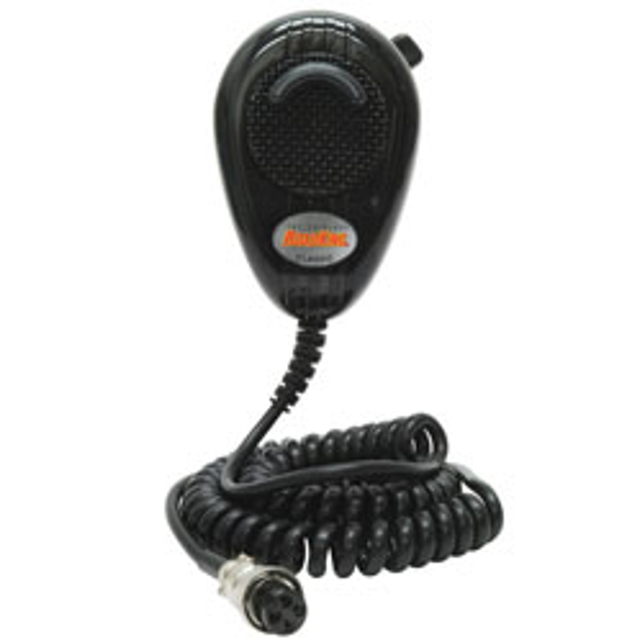 RoadKing - 4-Pin Dynamic Noise-Canceling CB Microphone, Black
