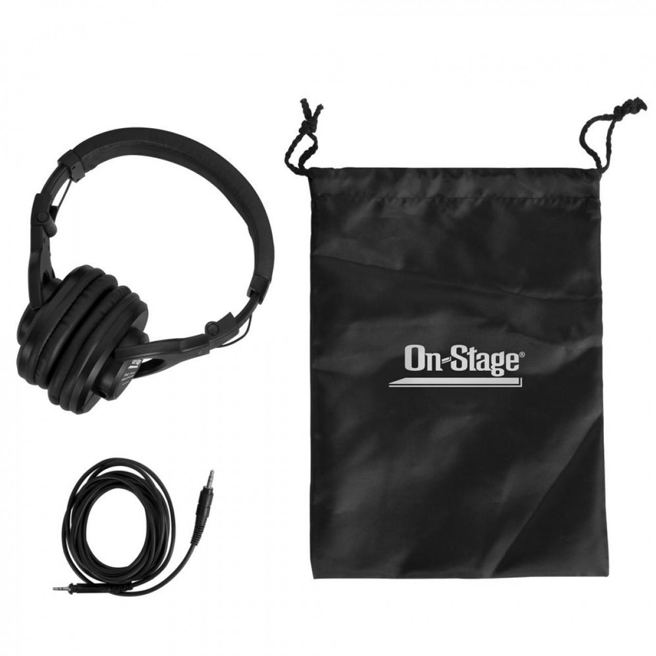 On-Stage Pro Studio Headphones -  SPECIAL
