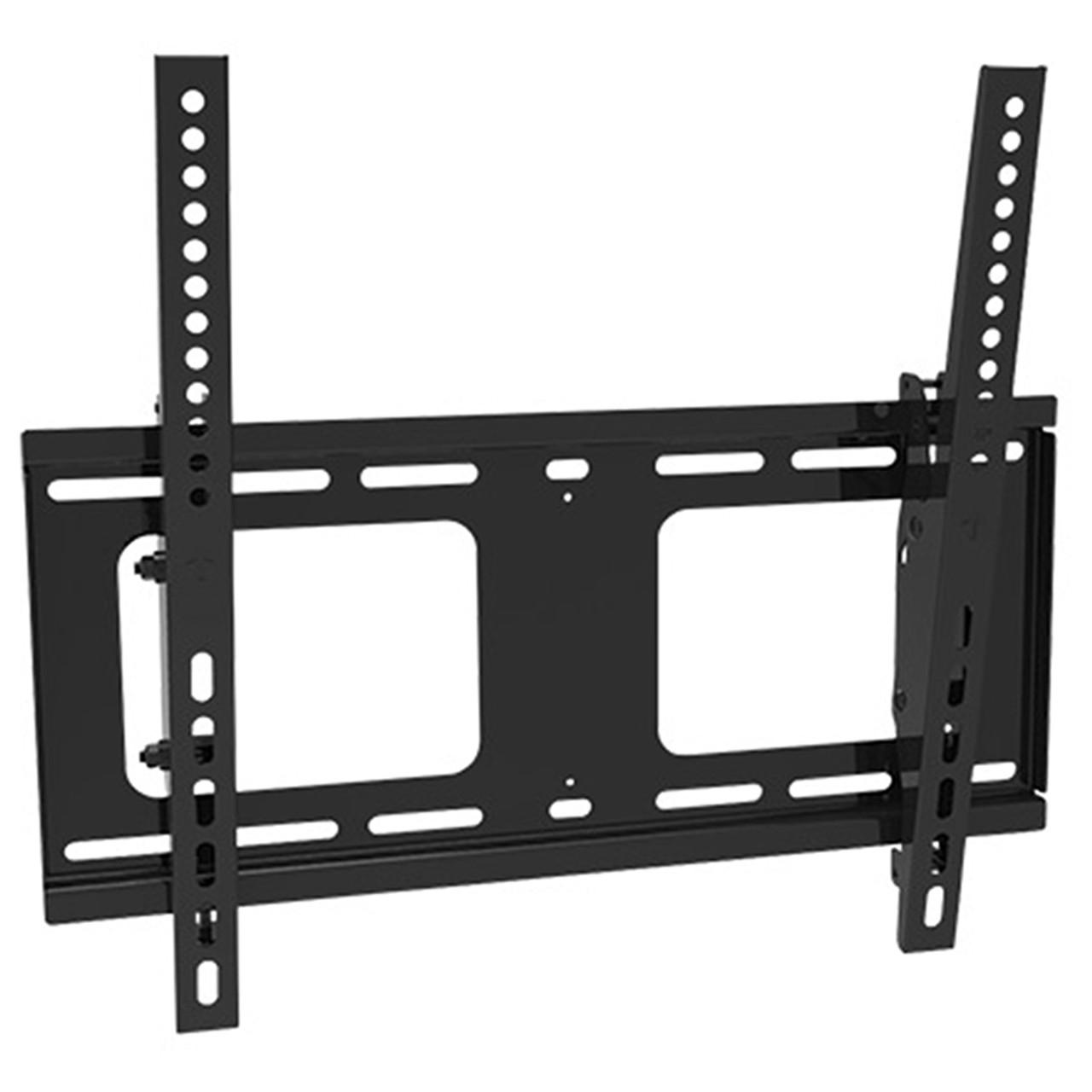 "Royal Mounts 32""-55"" UL Listed Extra-Flat Panel TV Mount w/Tilt (Black)"