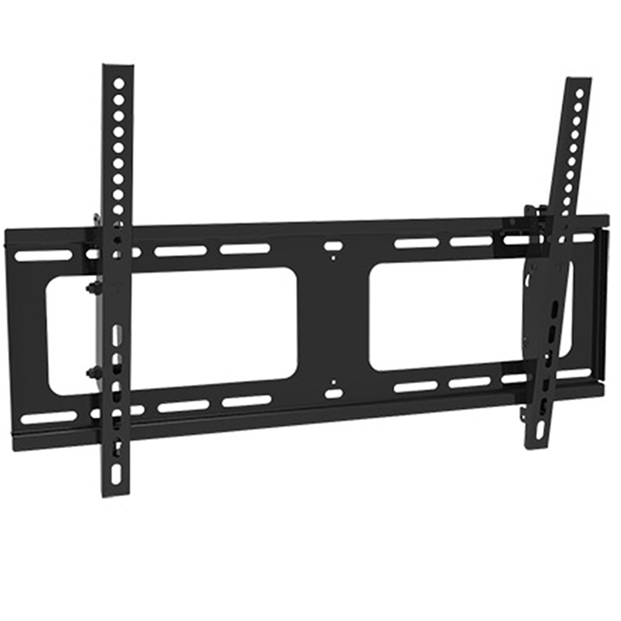 "Royal Mounts 37""-70"" UL Listed Extra-Flat Panel TV Mount w/Tilt (Black)"