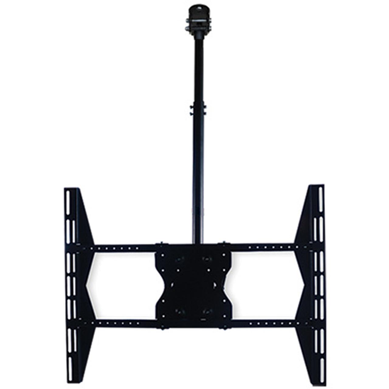 Royal Mounts™ Full Motion Sloped-Ceiling Mount for Flat Panel TV's 23-63in. (Black)