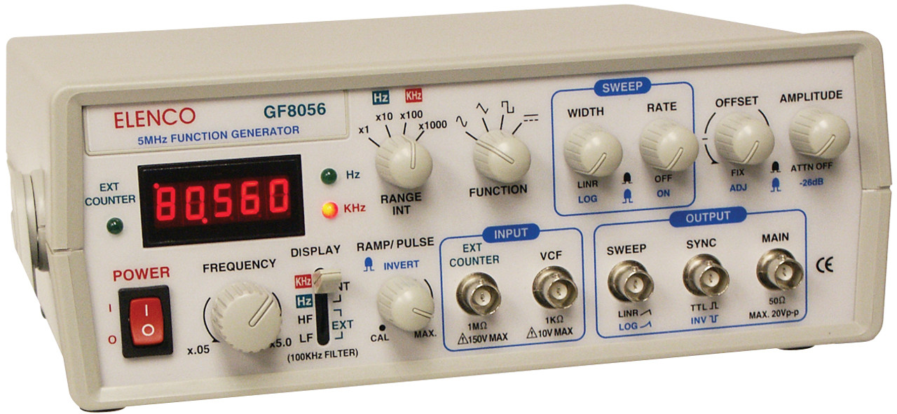 Elenco 5MHz Function Generator