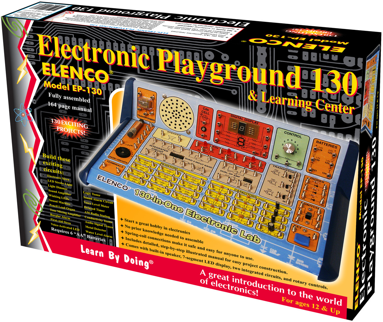 Elenco 130 In 1 Electronics Playground Snap Circuits Pro Sc500