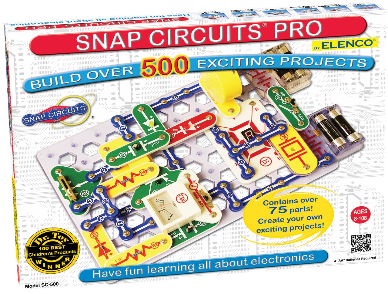 Elenco Snap Circuits Pro® 500 Experiments