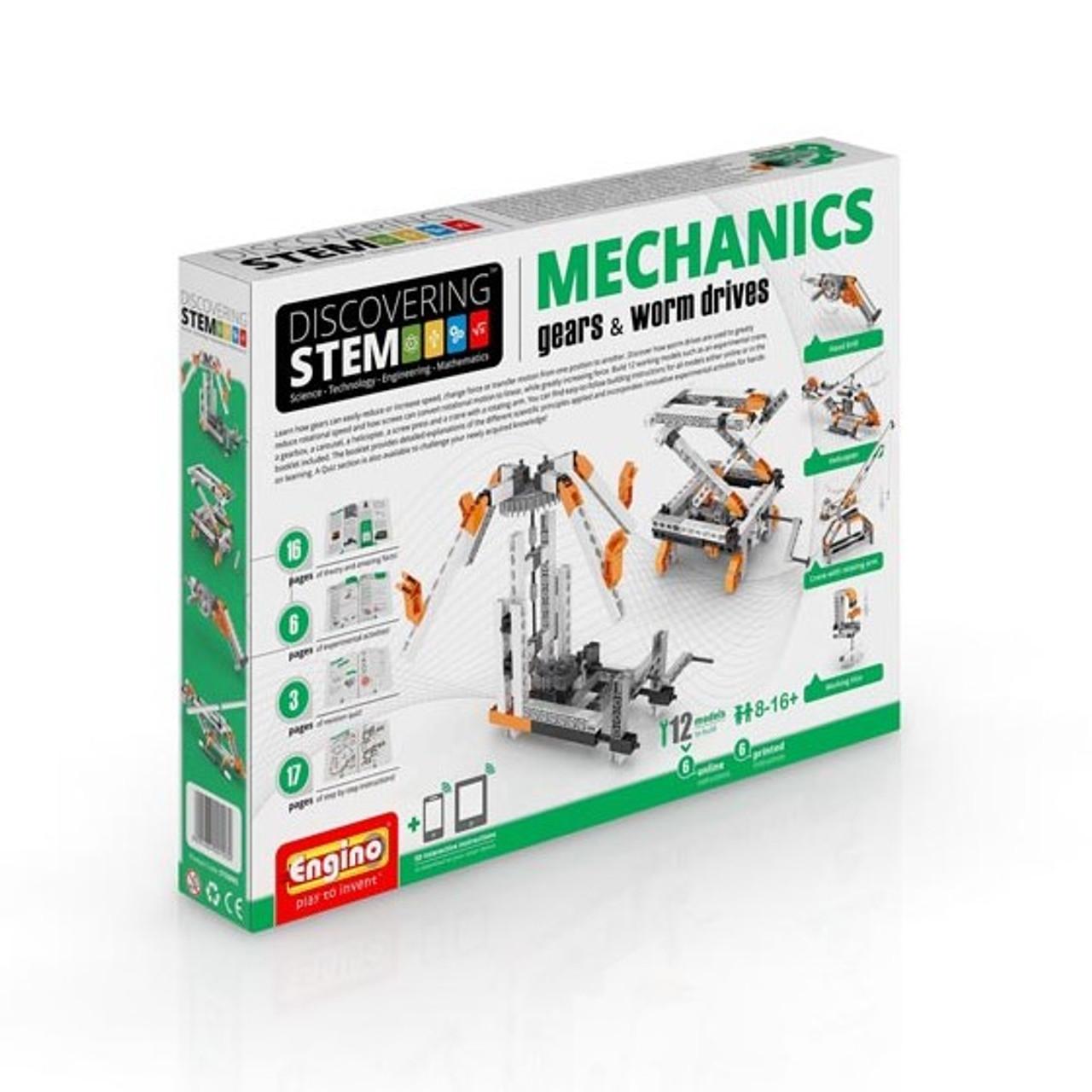 STEM Mechanics: Gears & Worm Drives