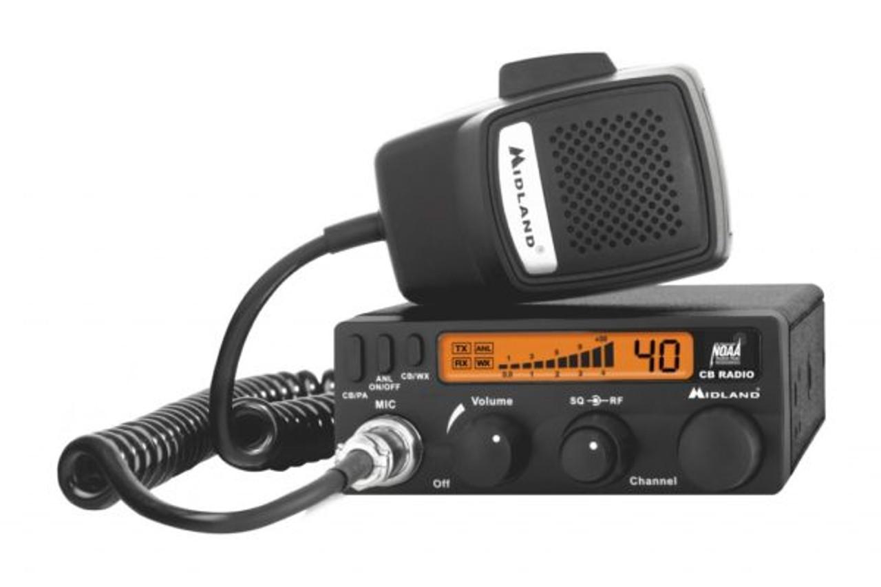 Midland 1001LWX  CB Radio with Weather Scan