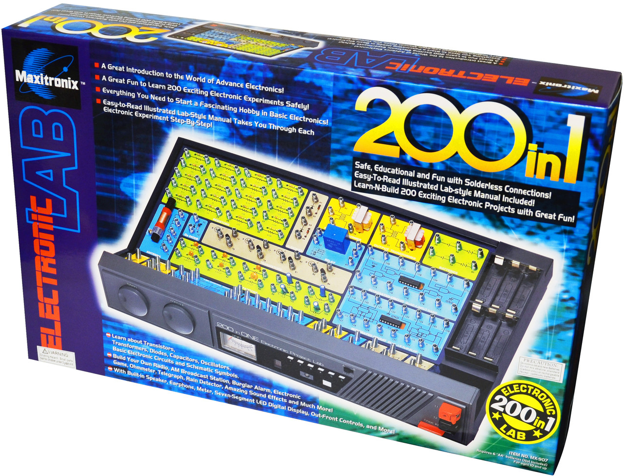200-in-1 Electronic Project Lab