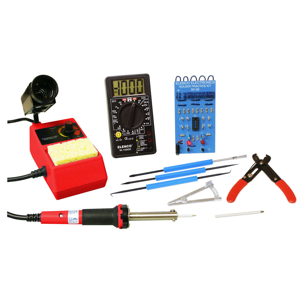 Elenco Hands-on Basic Electronics Kit SKM-250
