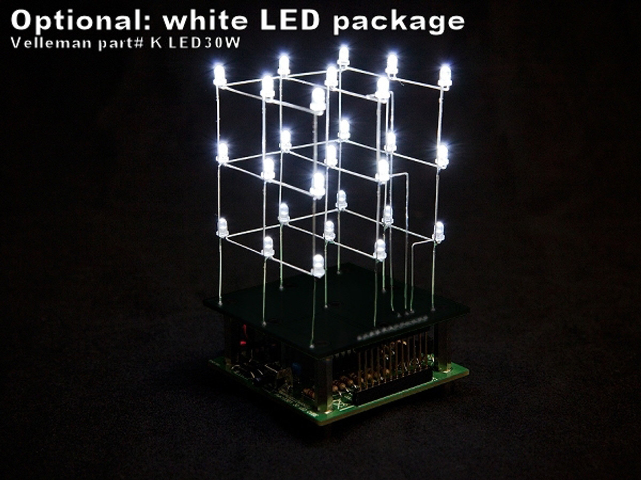 Velleman 3D LED CUBE 3 x 3 x 3