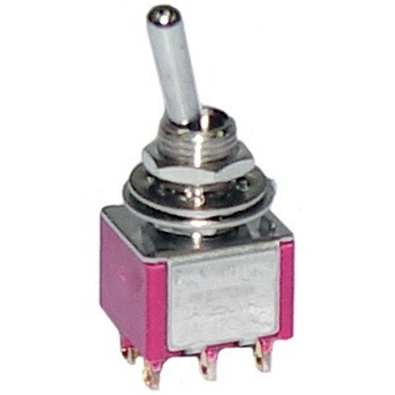 Mini Toggle Switch DPDT ON-OFF-ON
