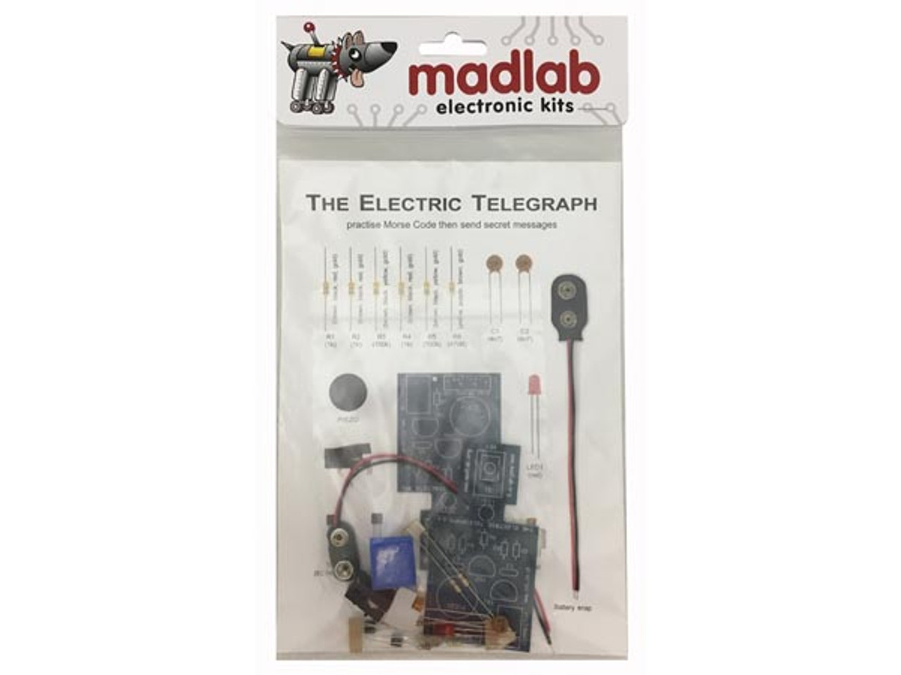 Velleman MadLab ELECTRONIC KIT - Electric Telegraph  mlp109