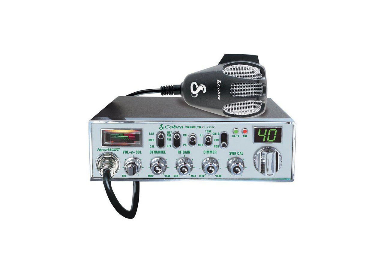 Cobra 29NW CB Radio with NightWatch® illumination
