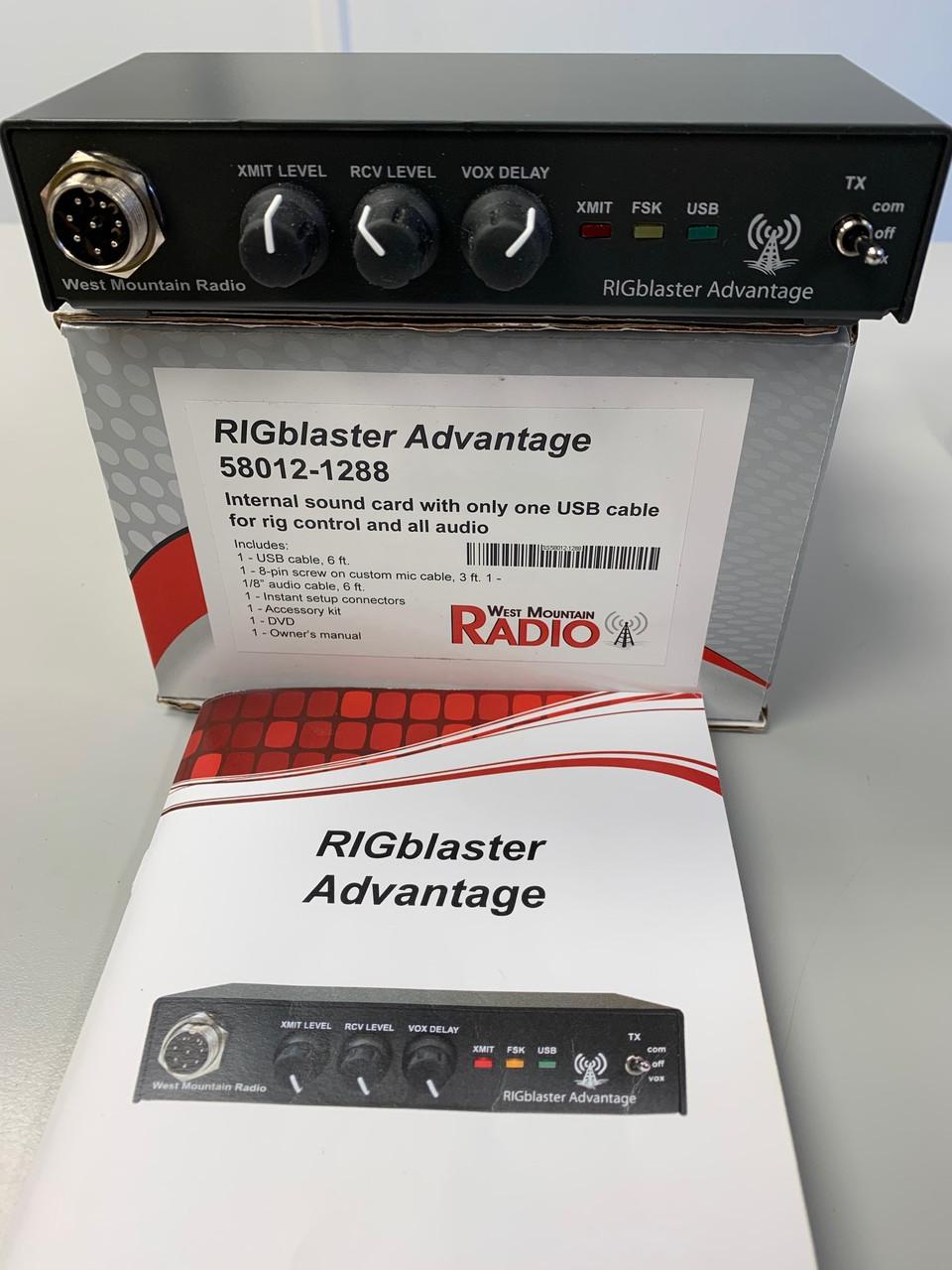 USED West Mountain Radio RIGblaster Advantage