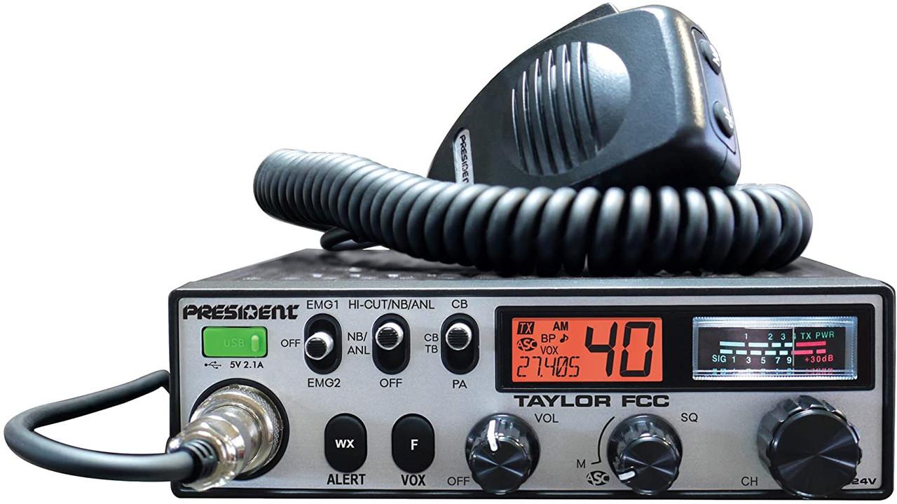 President Taylor - 12/24V CB Radio