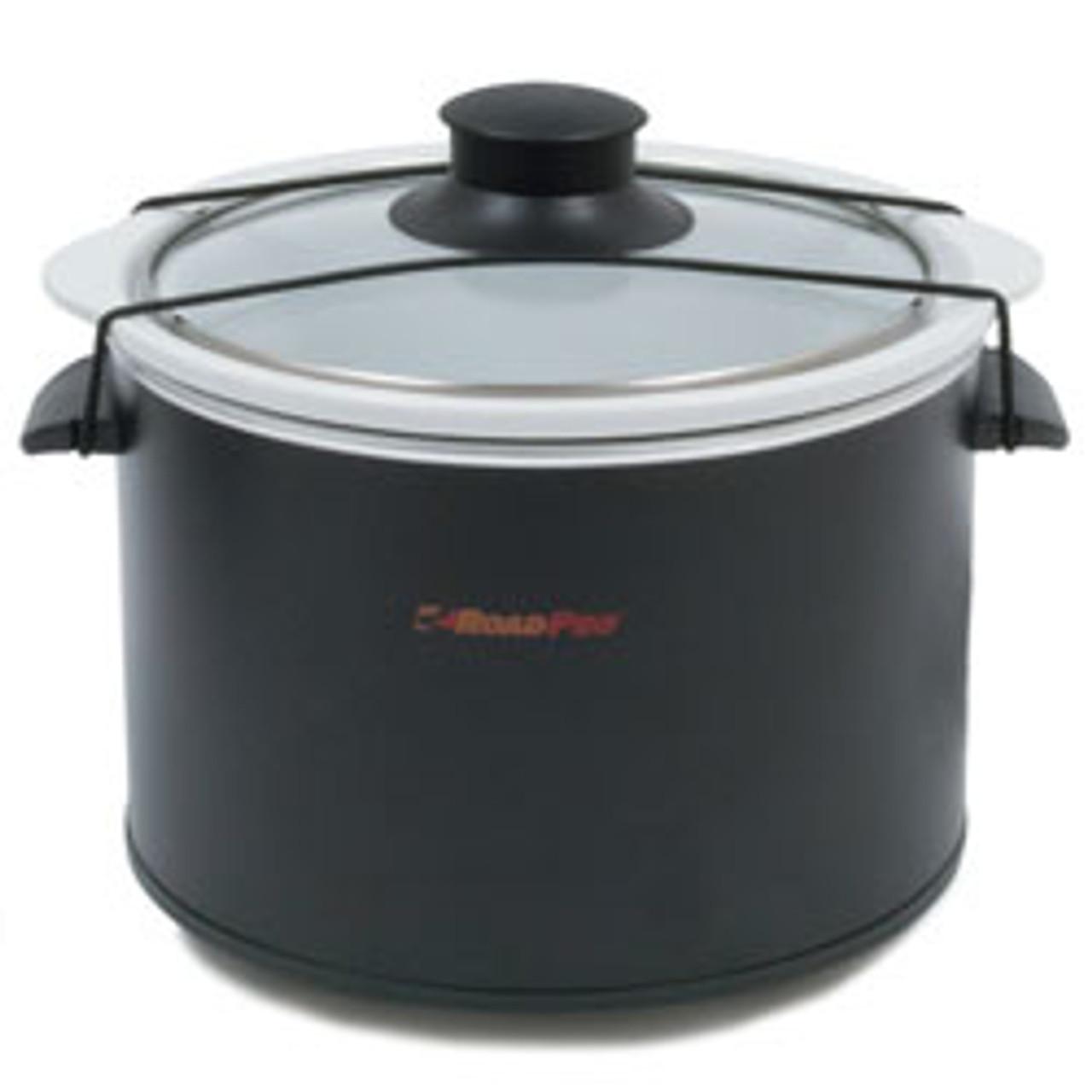 RoadPro(R) - 12-Volt 1.5 Quart Slow Cooker, Black