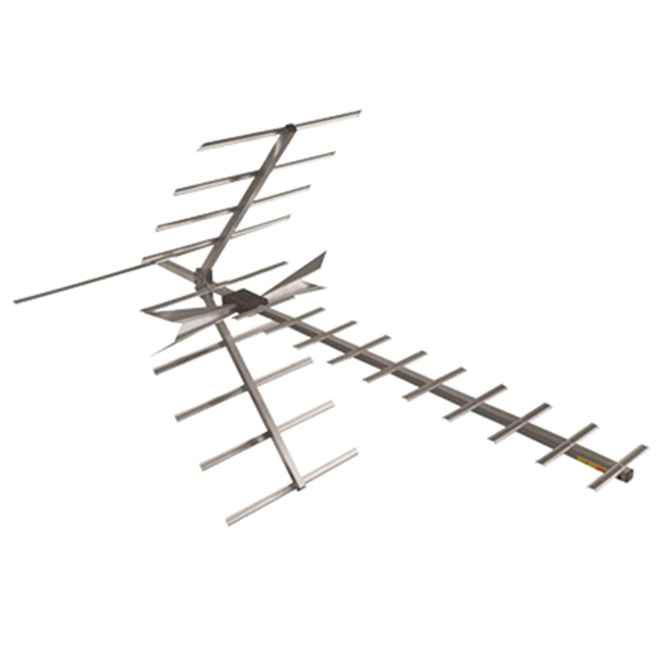 DigiTenna® DT-DFAMP20-1 Deep Fringe Antenna w/ Embedded Amplifier VHF Hi-Band/UHF, 0-70+ Miles