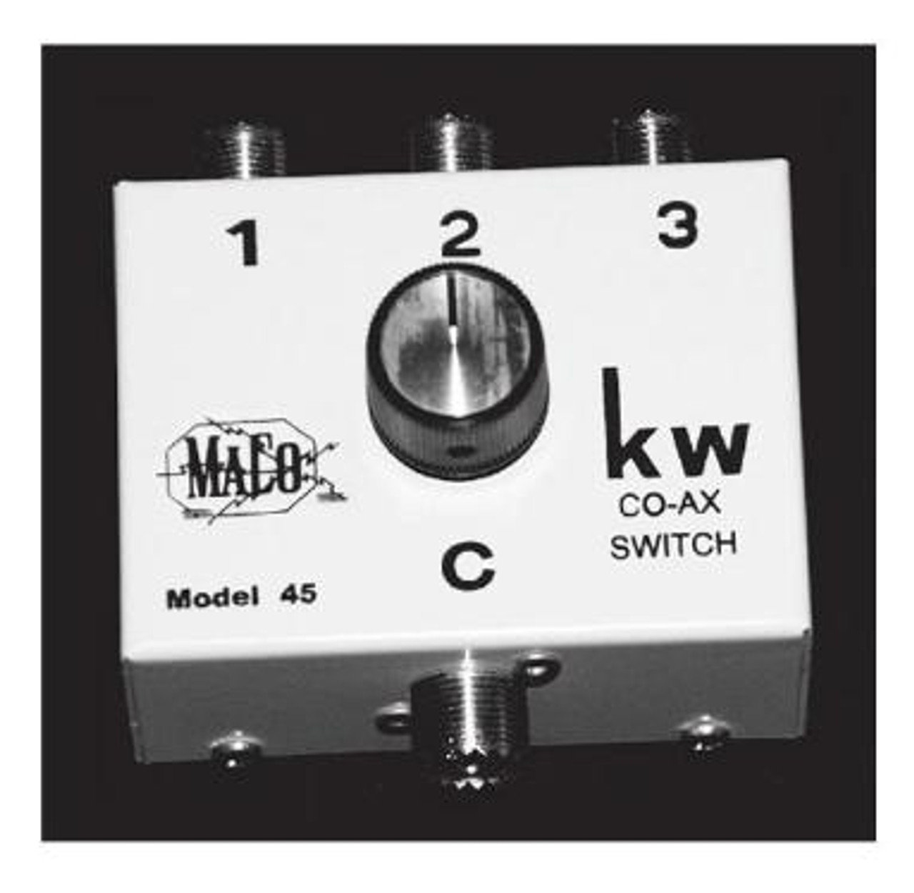 Maco 45 3 position coaxial switchbox