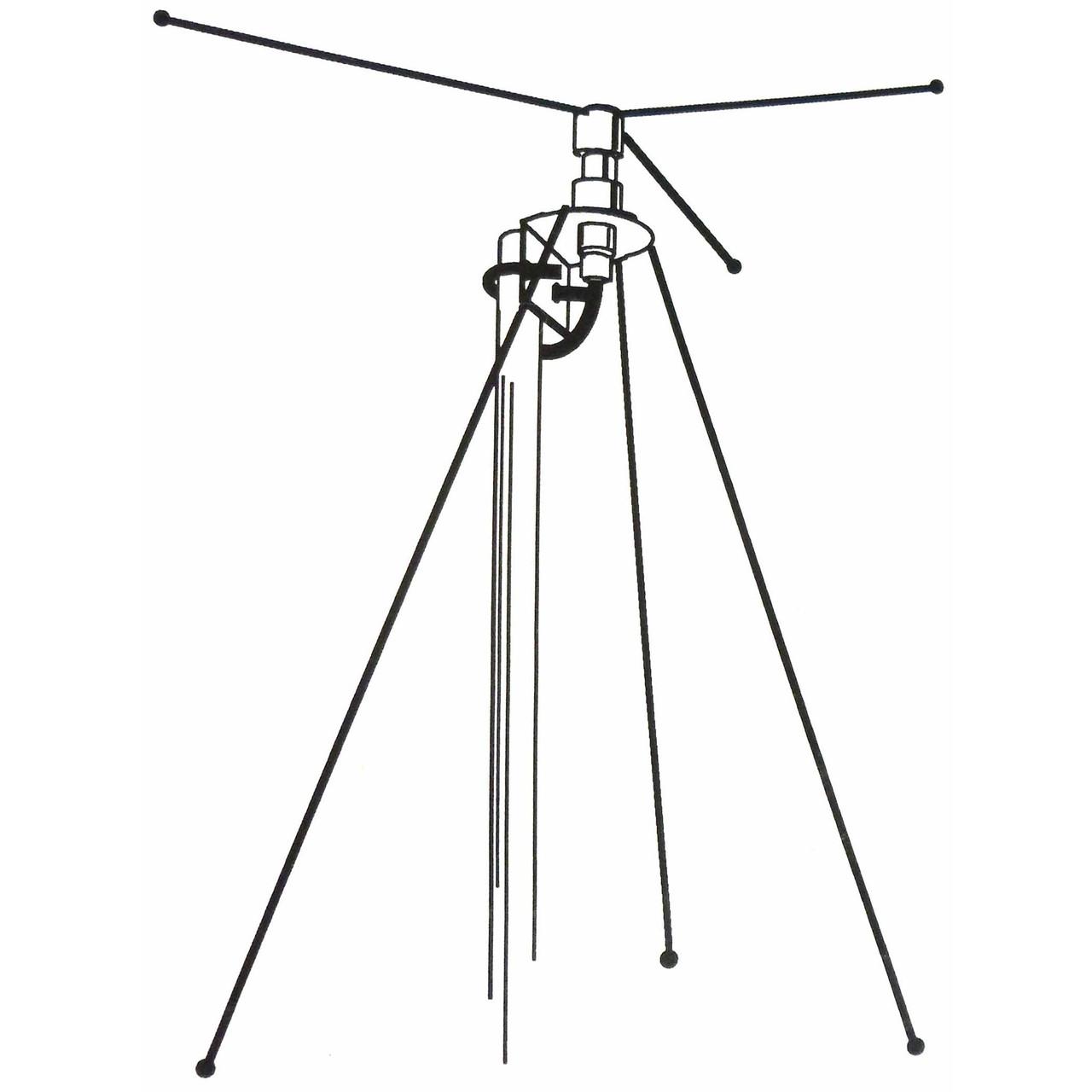 Hustler DCX Scanner Antenna