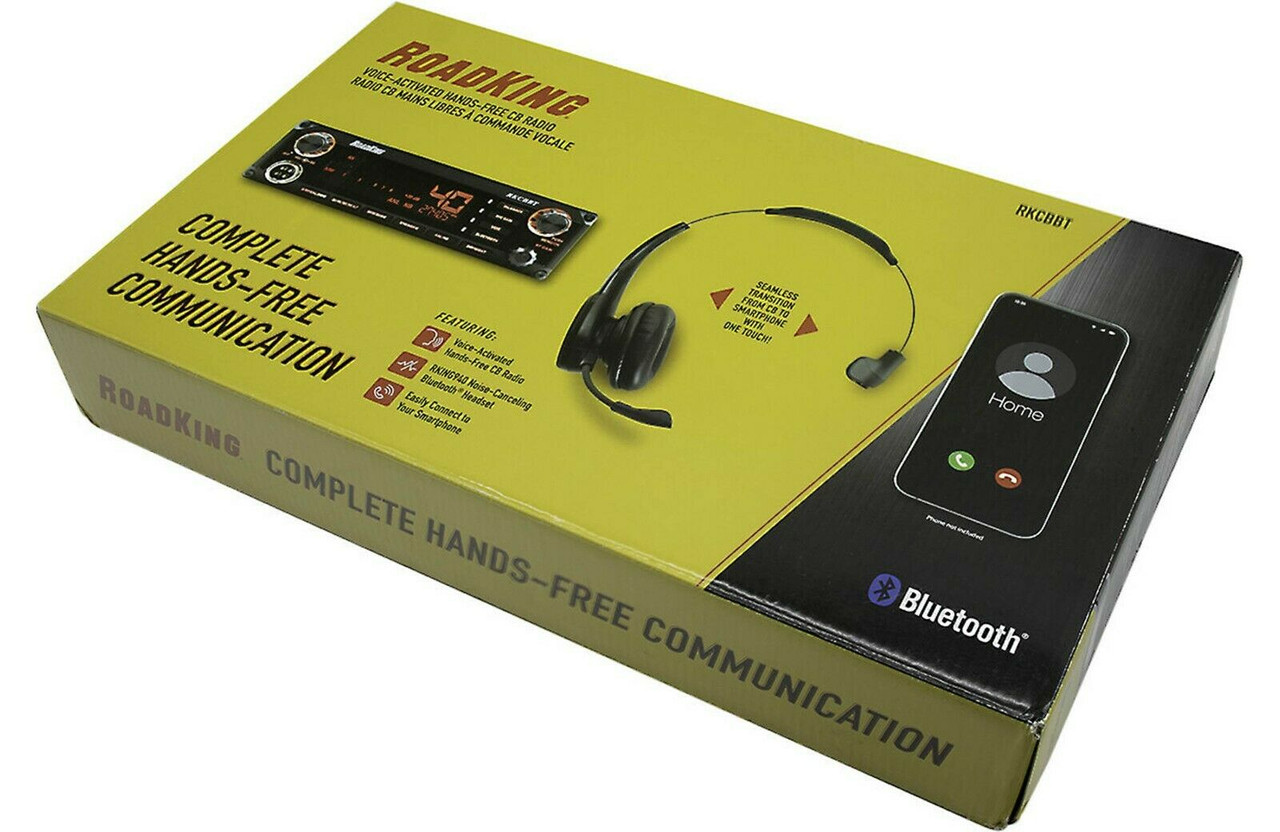 RoadKing Voice-Activated Hands-free CB Radio