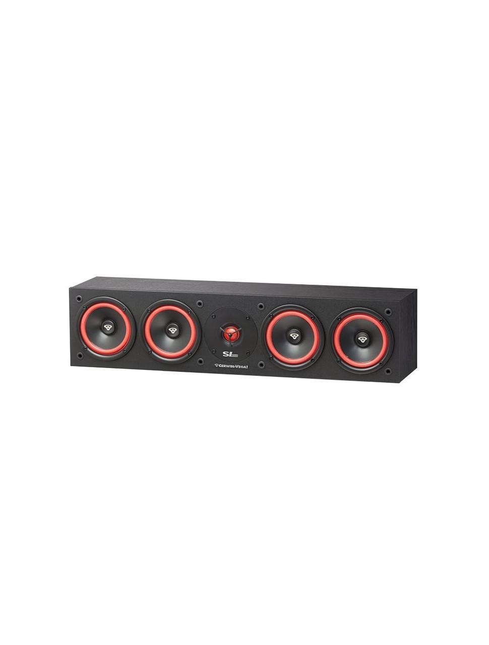 """Cerwin-Vega SL-45C Quad 5.25"""" Center Channel Speaker"""