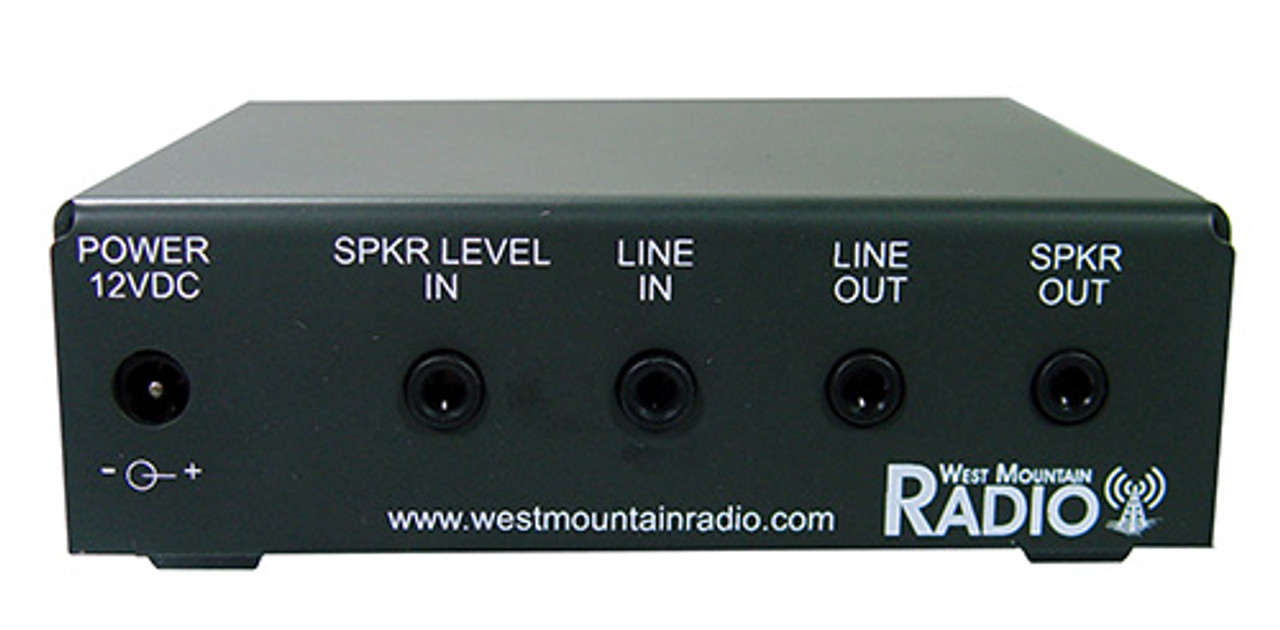 West Mountain CLRdsp ClearSpeech® DSP Noise Reduction Processor - NEW MODEL