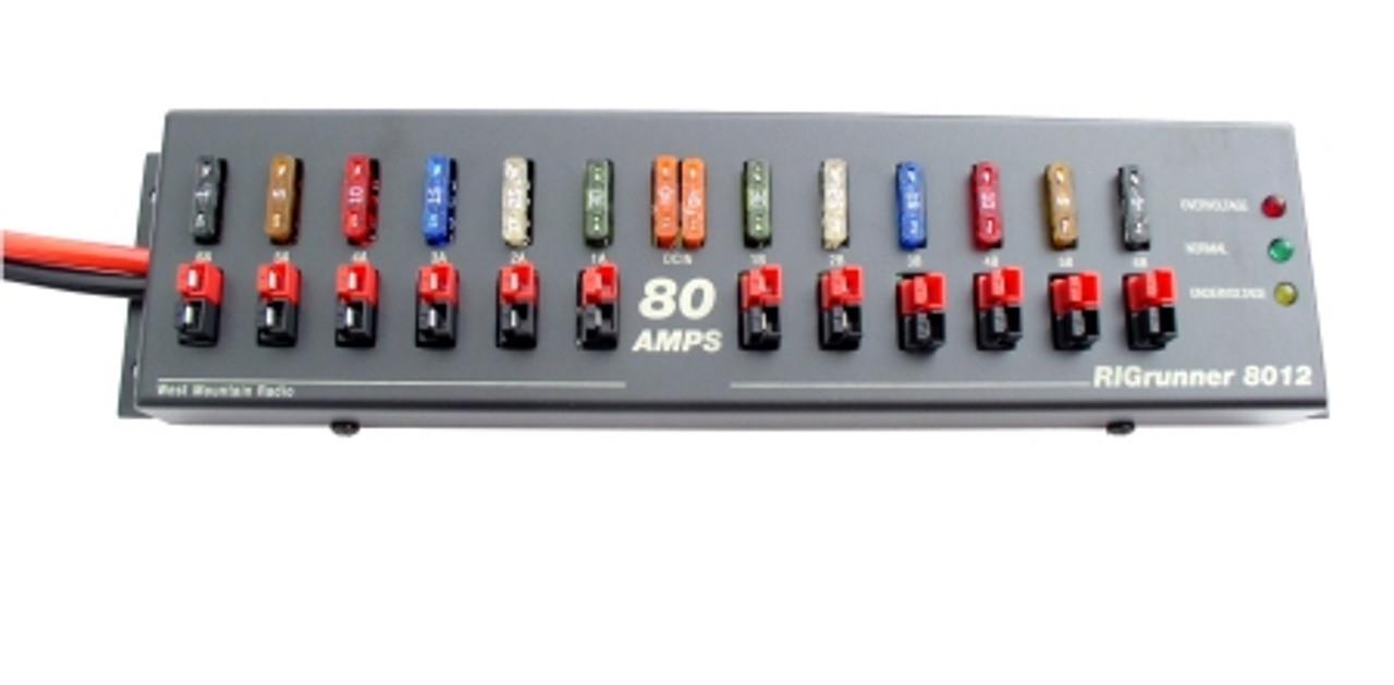 WMR RR/8012/C -- RIGrunner 8012, DC Power Panel COMPLETE