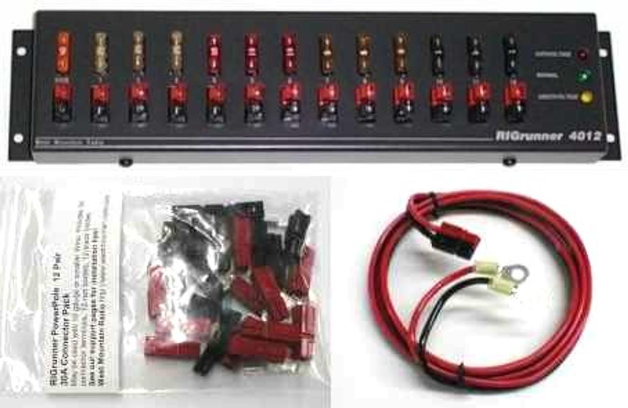 RIGrunner 4012, DC Power Panel COMPLETE
