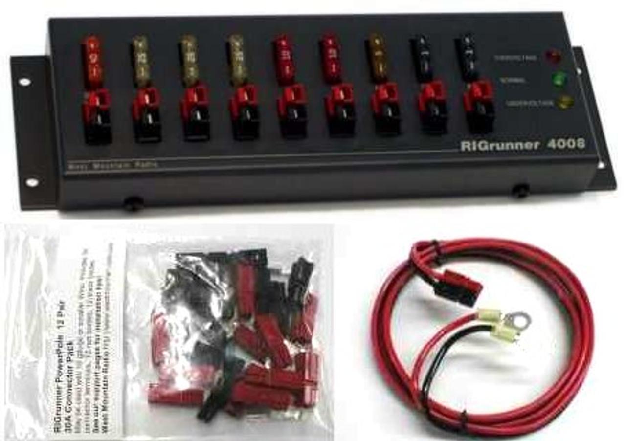 WMR RR/4008/C -- RIGrunner 4008, DC Power Panel COMPLETE