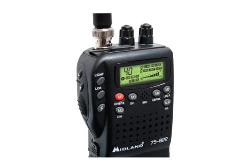 Midland 75-822 Mobile/Handheld CB Radio