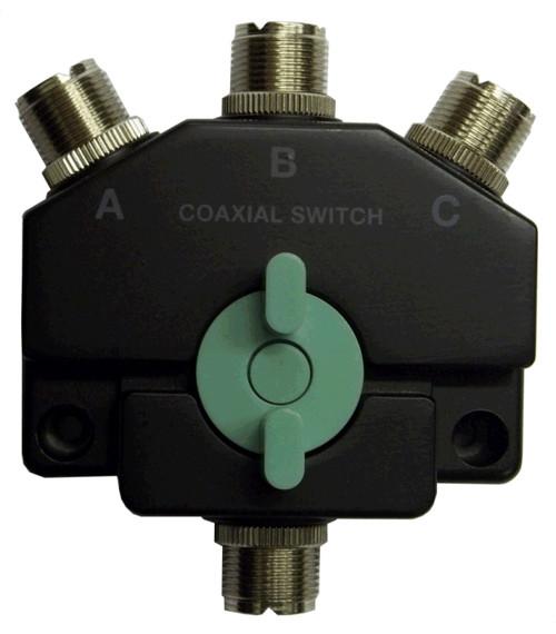 Jetstream JTCS3M 3 Position Coax Switch