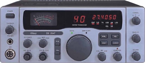 Galaxy DX-2547 AM/SSB CB Base Station