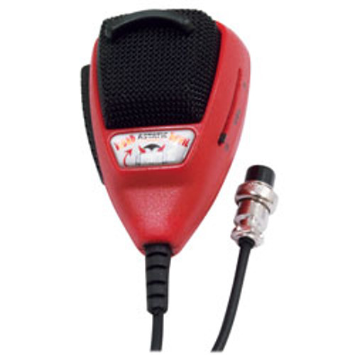 Astatic - RD104E Road Devil Amplified 4-Pin CB Microphone