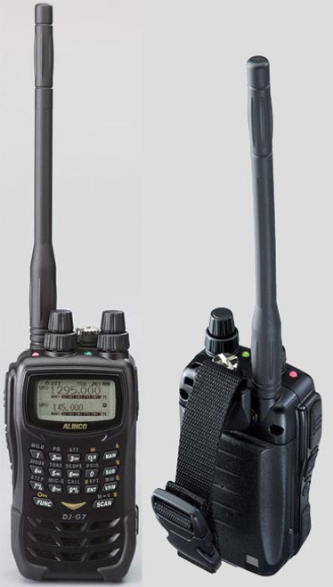 Alinco DJ-G7T FM Tri-band Handheld Transceiver