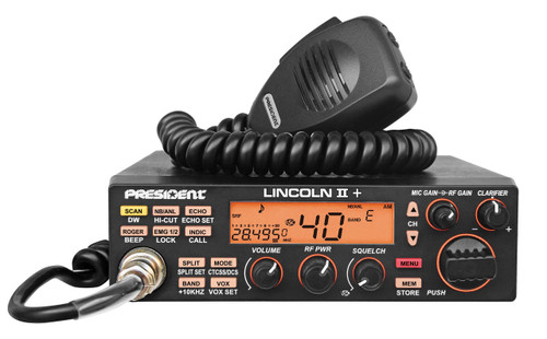 President LINCOLN II Plus  - New 10/12 Meter All Mode - $25 FACTORY REBATE FREE SHIPPING