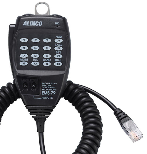 Alinco EMS-79 DTMF Microphone - DR-735T