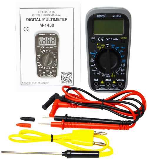 Elenco M-1450 Digital Multimeter