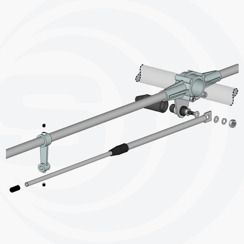 Tram-Browning BR-1480 Dual Band VHF/UHF Base Antenna