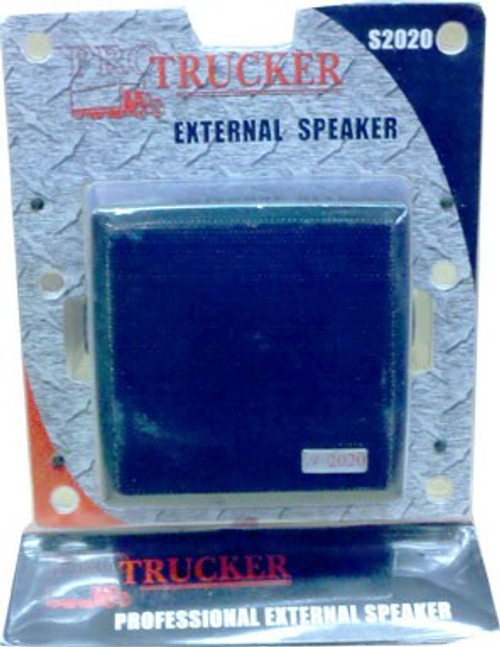 "Pro Trucker PTS2020 4 1/2"" 20 Watt Dynamic External Speaker Mini Plug"