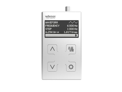 Velleman 1 MHz POCKET FUNCTION GENERATOR HPG1MK2