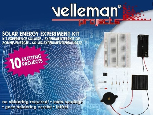 Velleman SOLDERLESS SOLAR ENERGY EXPERIMENT KIT