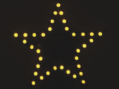 Velleman FLASHING YELLOW LED STAR