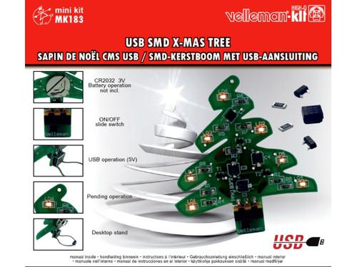 Velleman USB SMD X-MAS TREE