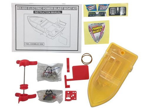 Velleman ELECTRIC POWER BLAST BOAT KIT