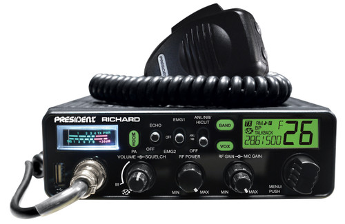 President Richard - New 10 Meter AM/FM