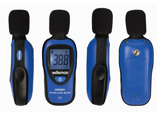 Velleman MINI DIGITAL SOUND LEVEL METER DEM200