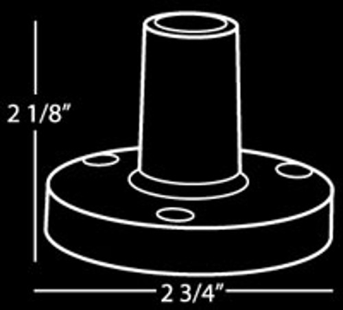 Heil FL-2 Flange Mount for PL-2T