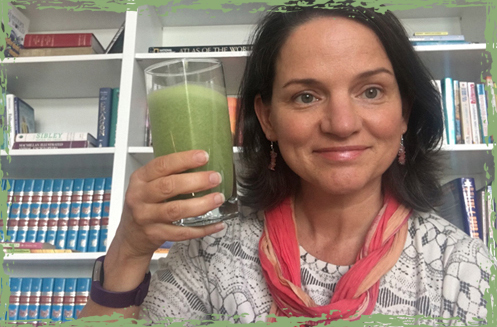 kristen with green smoothie.jpg
