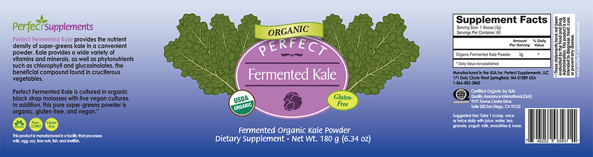 Fermented Kale Powder