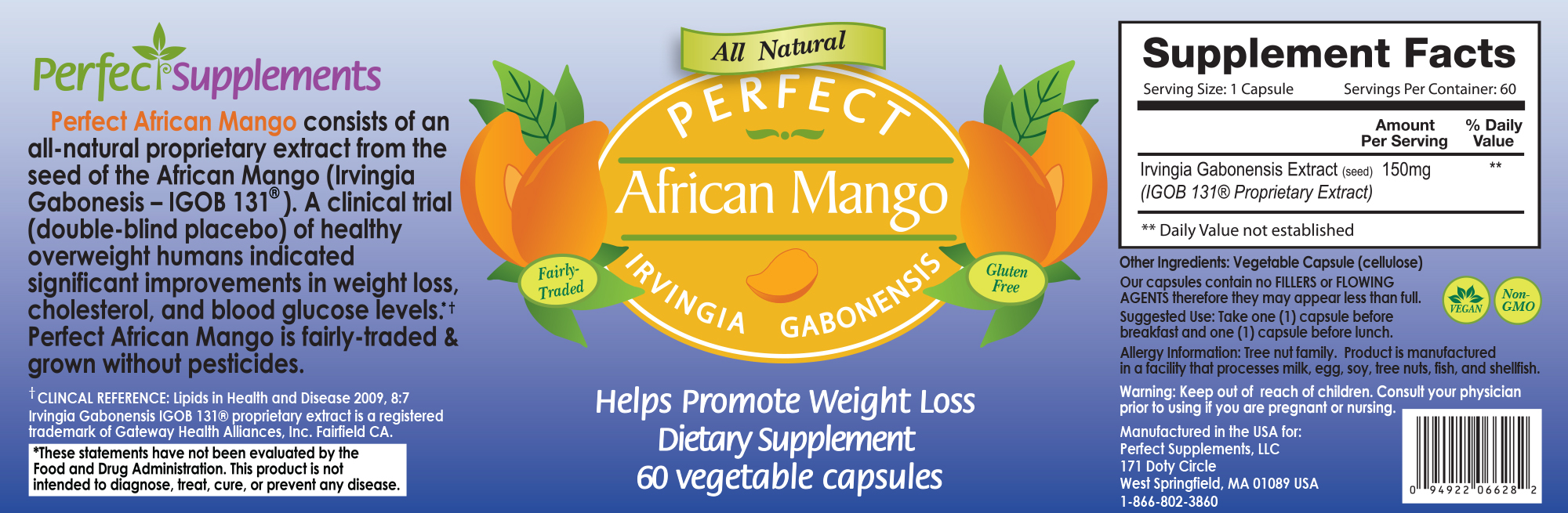 Perfect African Mango