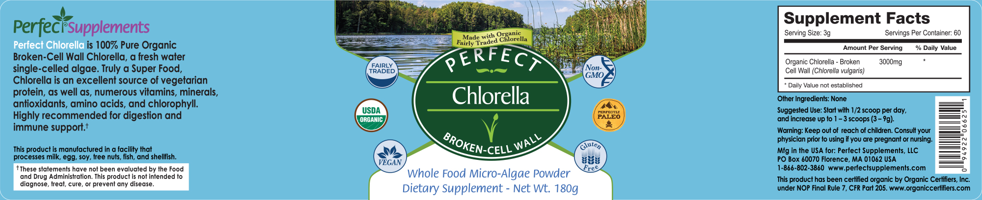 Perfect Chlorella